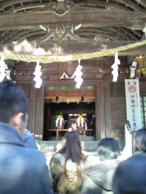 武田神社に初詣