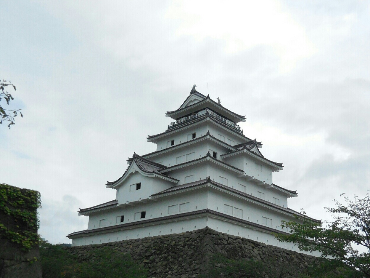 8月13日 福島県 鶴ヶ城